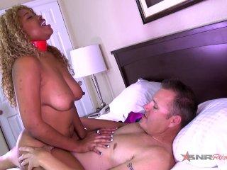 Sexy white boy fucks me hard in mutiple positions / Sexy Nina Rivera