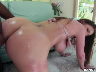 Brooklyn Chase gets a big black cock in her tight pink pussy! (btcp14557)