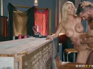 Dirty wife cheats with bar man – Brazzers