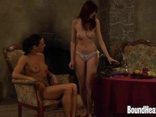 Mistress of Souls II: Lesbian Stepsisters In Threesome