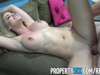 PropertySex – Hot real estate agent fucks her step-cousin