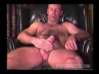Mature Man Jim Jerks Off