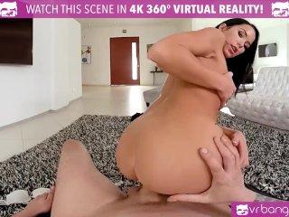 VR PORN-My Naughty Sexy Teen Girlfriend Megan Rain Ride's My Cock