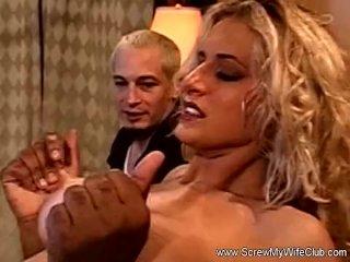 Big Tit Blonde Housewife Swinger Fuck