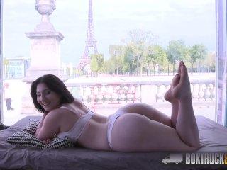 Amazing Mylene Johnson has Hardcore Public Sex in Paris