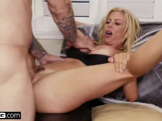 BANG Confessions – Alexis Fawx gives her stepson a Halloween Treat