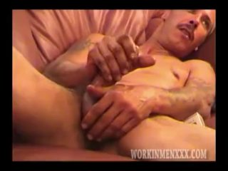 Mature Amateur Rob Jacking Off On Homemade Video