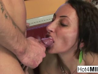 Hungarian MILF gets her pussy and ass fucked