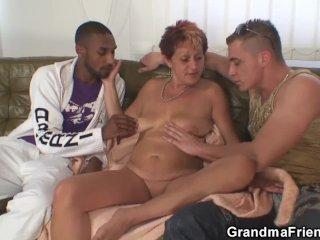 Trojka s babičkou