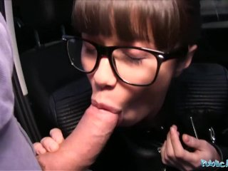 Public Agent Ejaculating in a Russian Babes Pussy