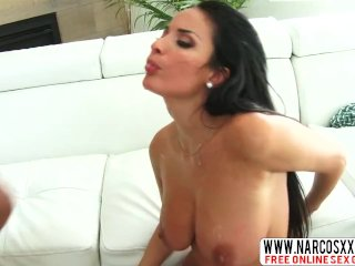 Elated Not-Mother Anissa Kate In Threesome