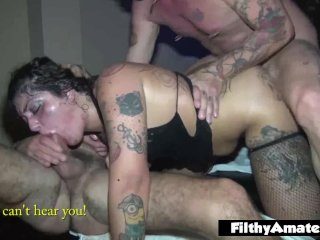 Glory Hole and Domination for the whores! Nasty Amateur Milf