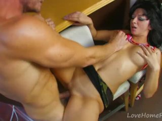 Hot-Blooded Latina Makes Dirty Dreams Come True
