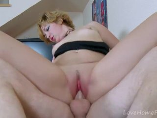Angel-Faced Blonde Loves To Suck Cock