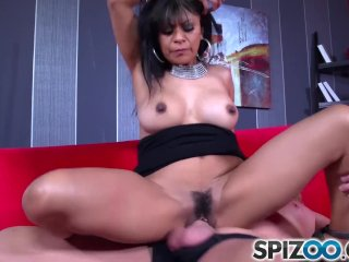 Spizoo – Latina Gabby Quinteros is pounded by a big dick, big booty