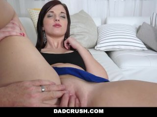 DadCrush – Daughter and Stepdaughter Fuck For Family Therapist
