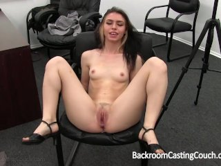 Young Latina Anal and Creampie on Casting Couch