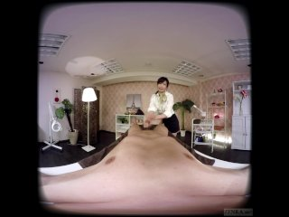 ZENRA JAV VR CFNM Massage Clinic Handjob and Blowjob