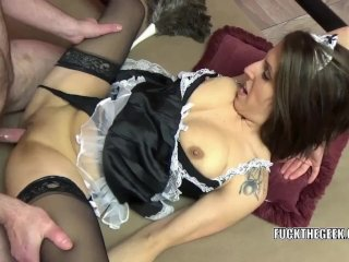 Lavender Rayne gets nailed with a stiff cock