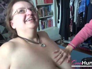 Групповой секс втроем с толстухой, девкой и мужиком