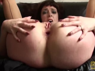 Uk Brunette Amateur Drilled In Her Ass
