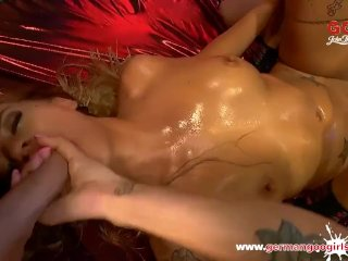 German Goo Girls - Silvia Dellai Mouthful Of Cum