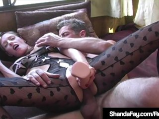 Canadian Cougar Shanda Fay Gets Her Tight Ass Fucked!
