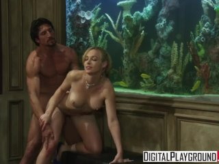 Digital Playground – Naughty Escort Kayden Kross knows how to work a cock