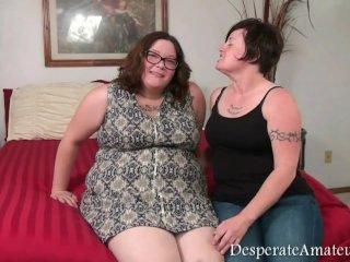 De knubbiga hemmafruarna älskar att knulla