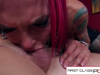 FirstClassPOV-Anna Bell Peaks sucking a monster cock, big boobs & big booty