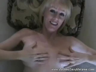 POV Sex With Amateur Granny Melanie
