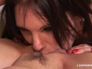 Seductive milf and her cute beauty are naughty