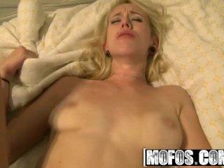 MOFOS – Slutty alt blonde  Camgirl Brandi Blunt Puts on a Show