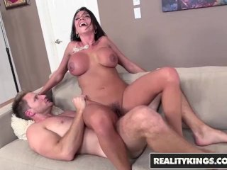 REALITY KINGS  – Hot milf Ariella Ferrera takes control of younger cock