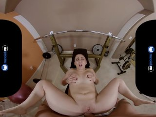 BaDoinkVRcom PAWG Teen Mandy Muse Gives You Hard Anal Gym Workout