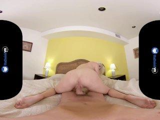 BaDoinkVRcom Blonde Teen Babe Xandra Sixx Brings You Back To Life