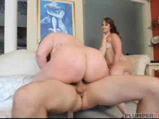 Big Booty Milf Marcy Diamond And Virgo Peridot Ride Cock