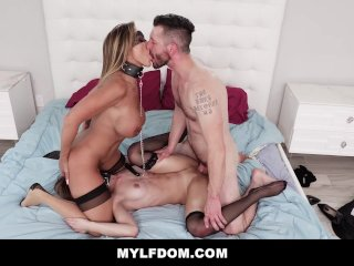 MYLFDom – Dominating Milf and Teen With Rough Fucking