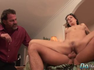 Wife Zoey Holloway Giving Cuckold the Middle Finger While Taking Studs Cock
