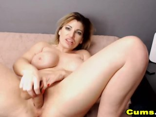 Blonde Milf Fuck Her Delicious Pussy