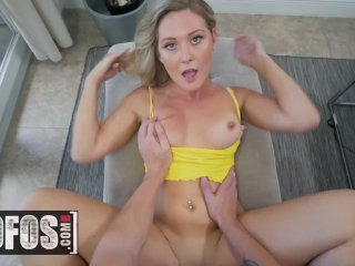 Blonde Addison Lee wants her bf to stop wanking and fuck her face – MOFOS