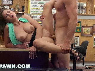 XXX PAWN – Sean Lawless Goes Evil On Ivy Rose's Juicy White Ass
