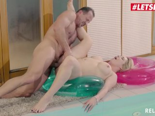 LETSDOEIT – Busty Mommy Has Rough Sex At The Pool