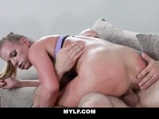 MYLF – Bodacious Blonde MILF Hottie Gets Titty Fucked