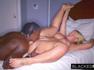 BLACKEDRAW This WILD thicc blonde said she's do anything for BBC