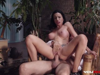 YOUMIXPORN Busty brunette Lola Bulgari anal with sex therapist