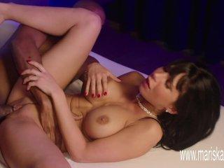 MARISKAX Busty brunette Valentina Ricci fucked by a BBC