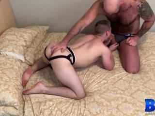 BREEDMERAW Muscular Jett Reed Fucked Deep By Hairy Bear