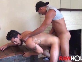 RAWHOLE Latino Stud Antonio Biaggi Barebacks Asian Bottom