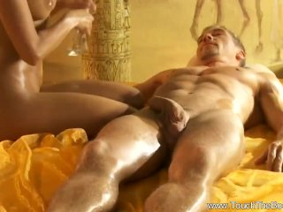 Perfect Big Cock Handjob Massage